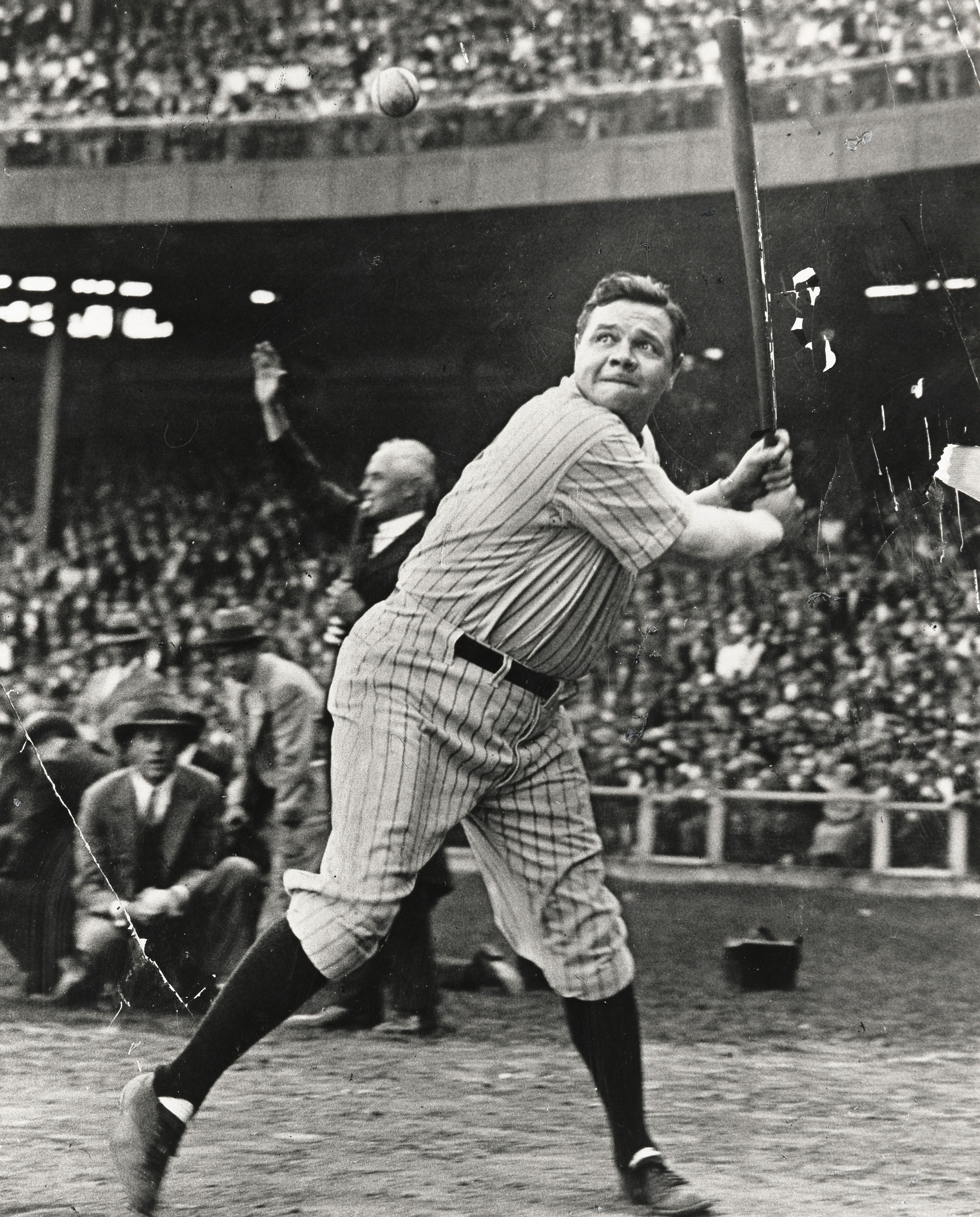A Picture Of Babe Ruth